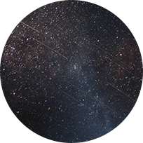 Night sky image with stars