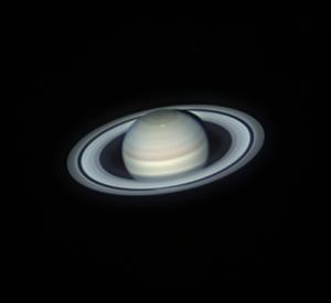 Telescope image of Saturn by amateur photographer Marciel Bassani Sparrenberger
