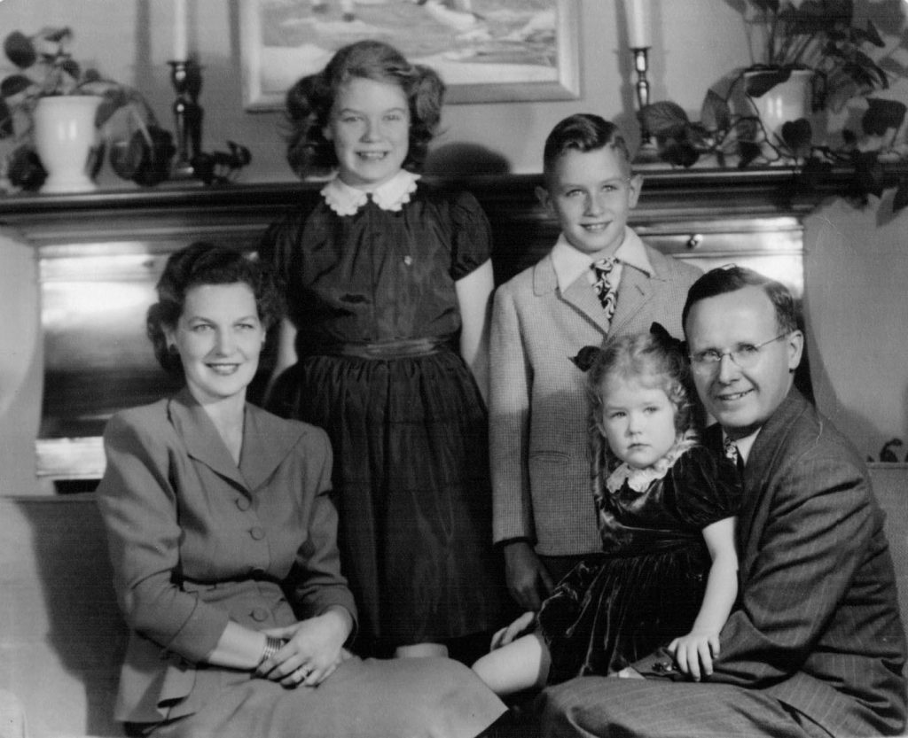Breckenridge family portrait, 1946