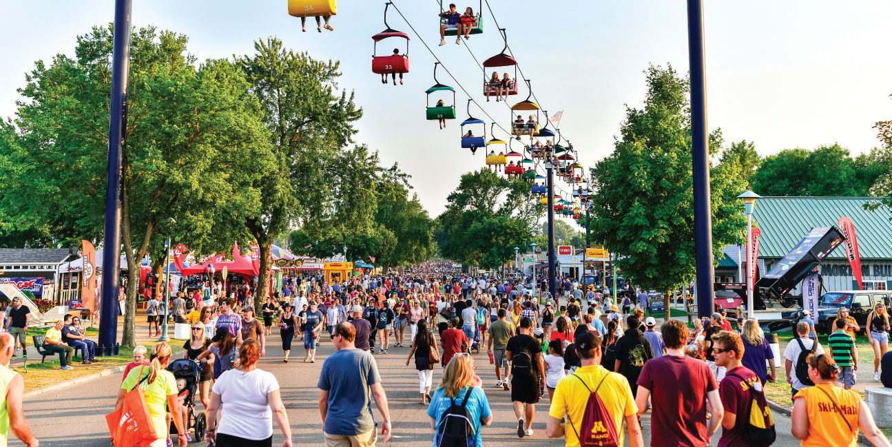 MN State Fair crowds