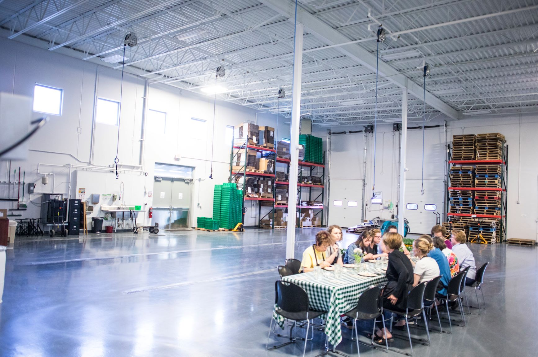 Good Acre Warehouse dining room