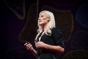 Speaker image of Anne Madden giving Ted Talk