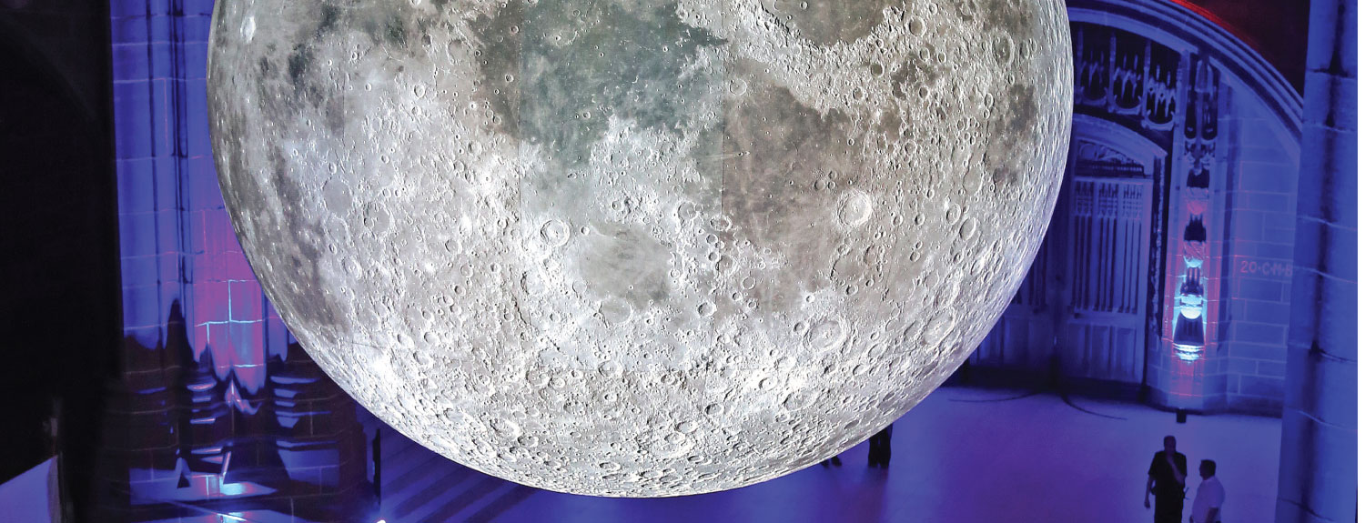 Museum of the Moon at Culture Liverpool