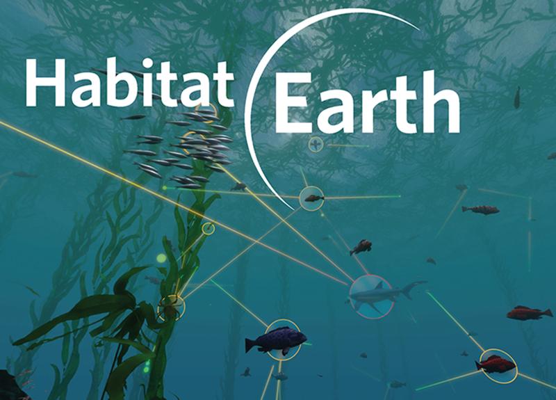 Habitat Earth screenshot from film
