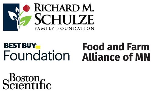 Richard M Schulze Family Foundation, Best Buy Foundation, Food and Farm Alliance MN, Boston Scientific