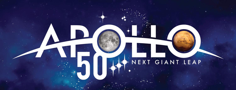 NASA's Apollo 50 logo