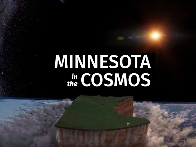 Minnesota in the Cosmos title graphic