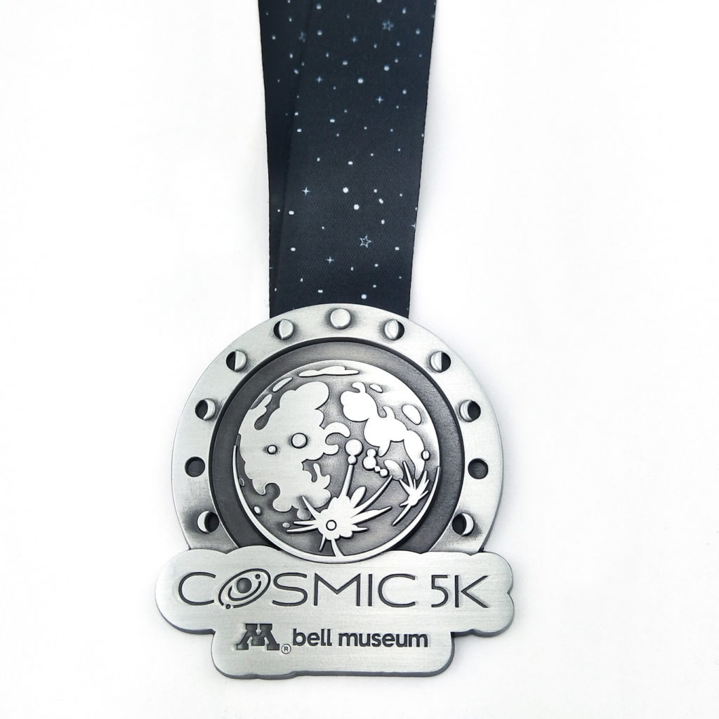 Moon finishers medal