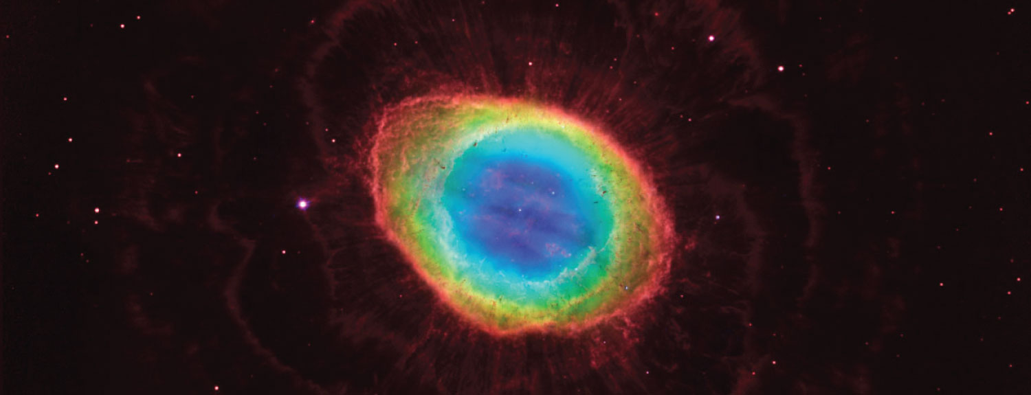 Composite image of the Ring Nebula by NASA