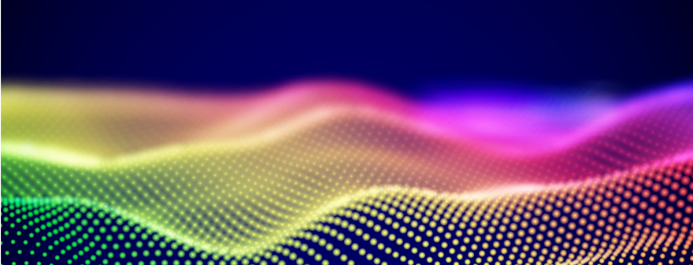 An illustration of soundwaves