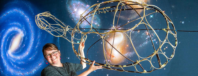 Bell RARP artist Anna Battistini shows a work in progress