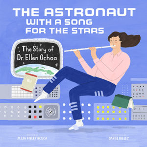 The cover of The Astronaut With a Song for the Stars