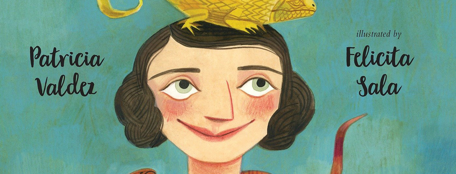 A slice of the cover art from Joan Procter, Dragon Doctor