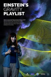 Promotional poster from Einstein's Gravity Playlist