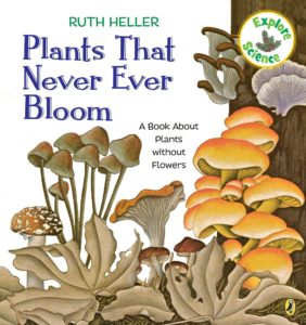 """Cover of """"Plants That Never Ever Bloom"""""""