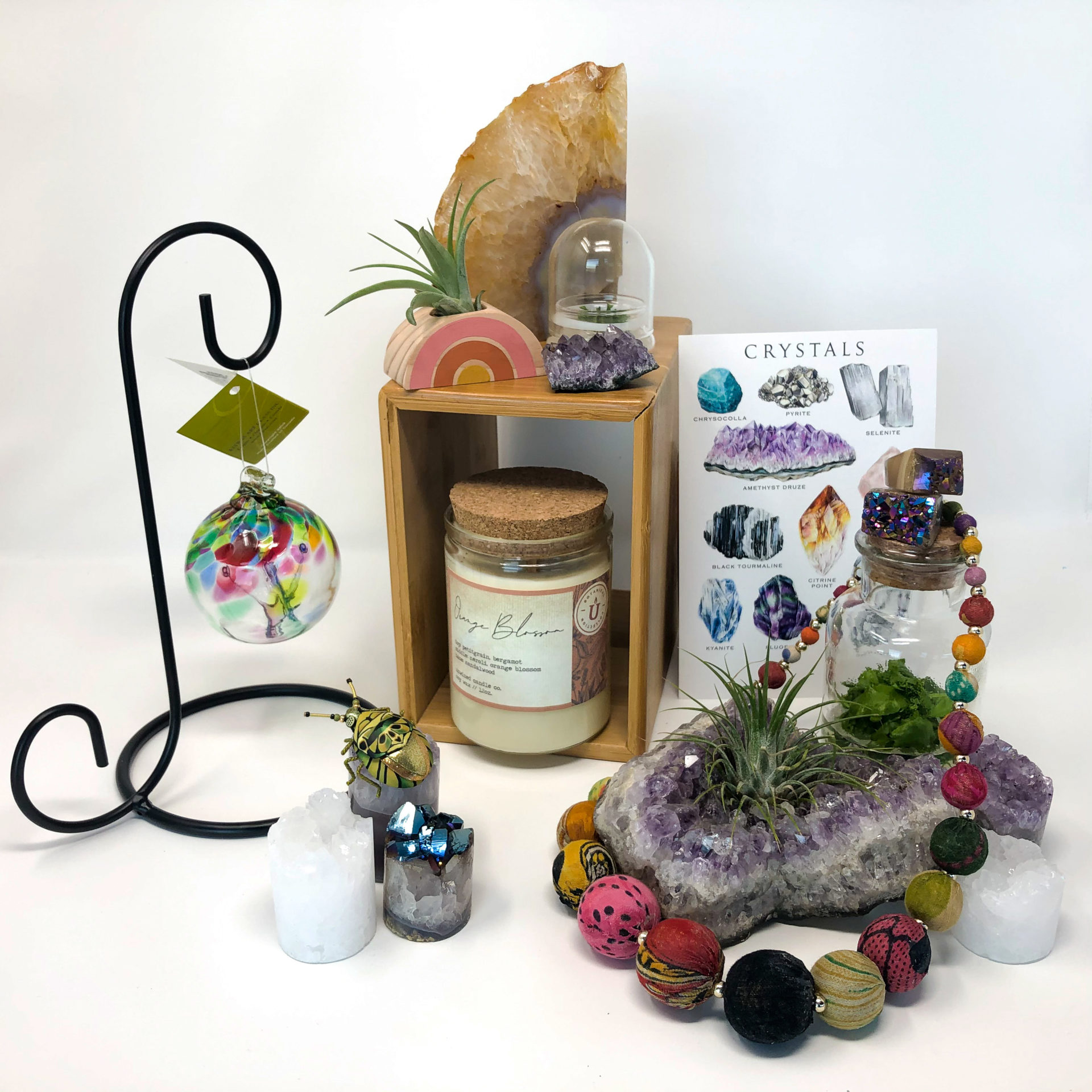 A selection of sparkly gifts