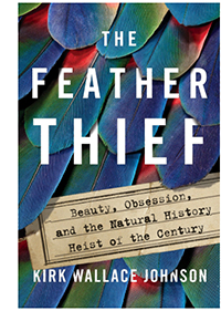 The cover of The Feather Thief