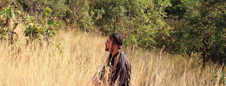 Anthony Massaro in the field