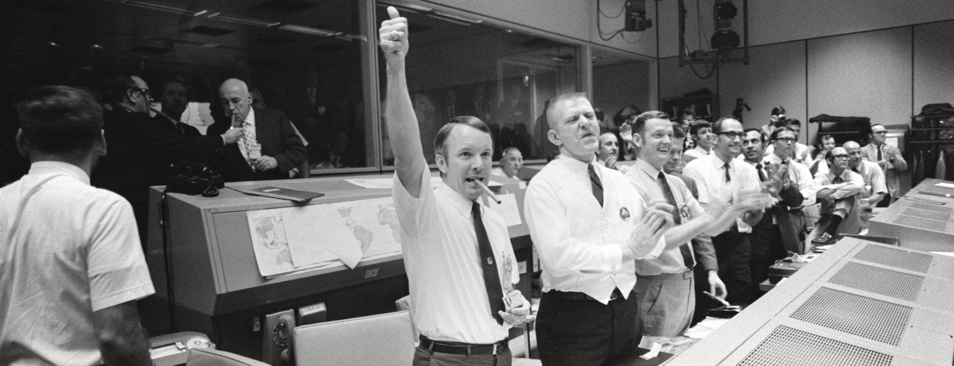 A big thumbs up from mission control