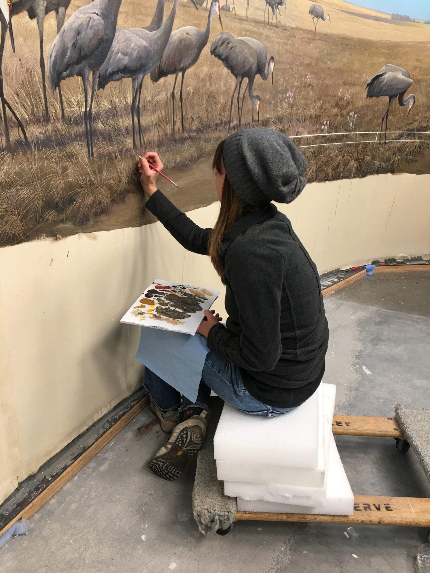 painting the restoration