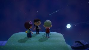 animal crossing star watching party