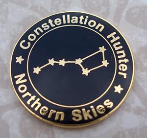 Constellation hunter pin