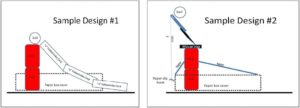 Simple Diagraum illustrating design options to create small-scale launchers