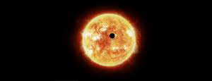Illustration of a distant exoplanet