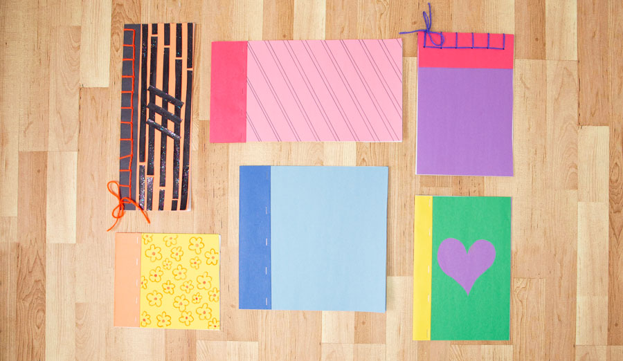 colorful examples of journals