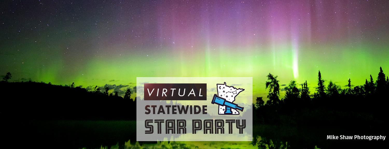 Virtual Statewide Star Party, photo of Aurora Borealis