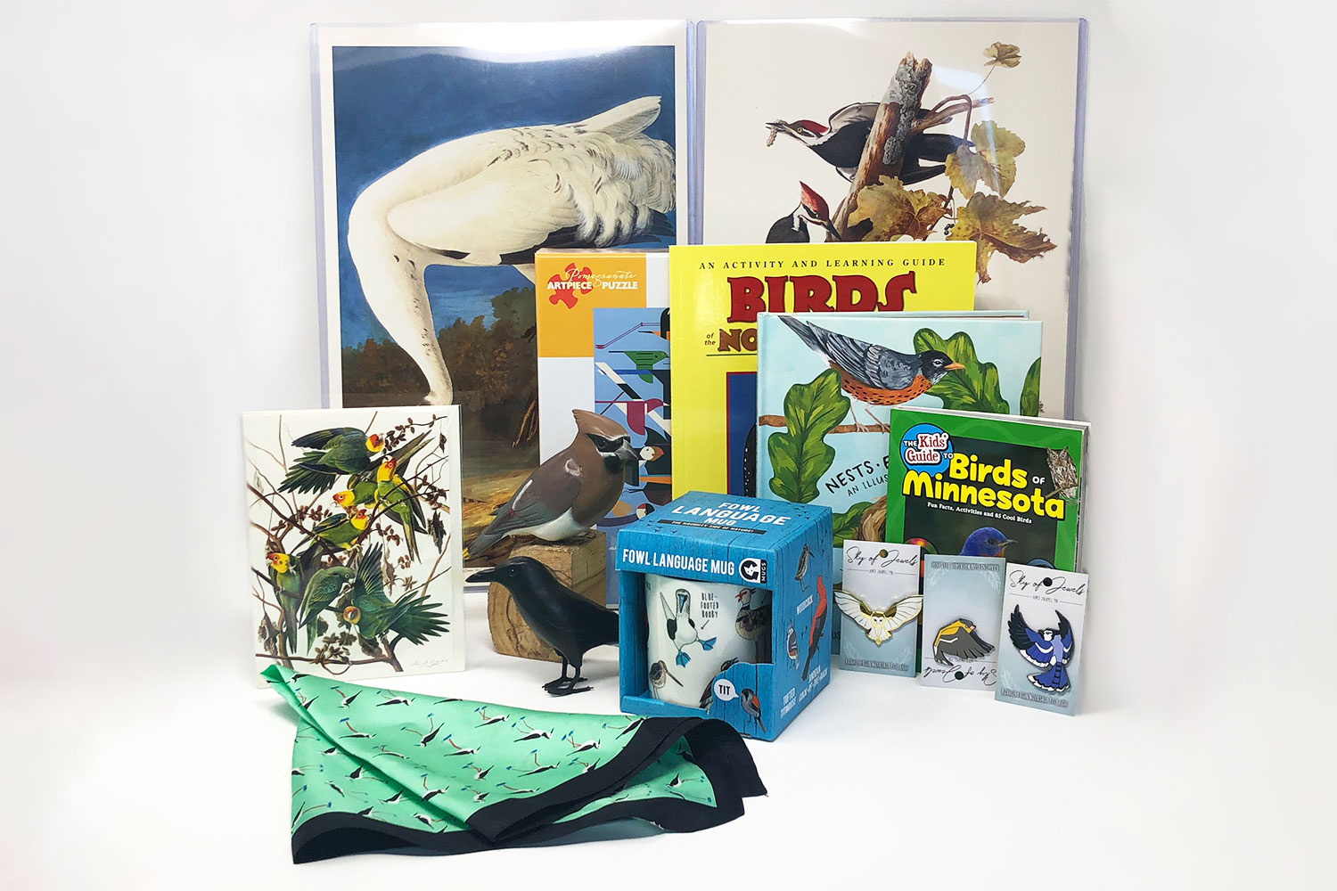 Selection of bird gifts