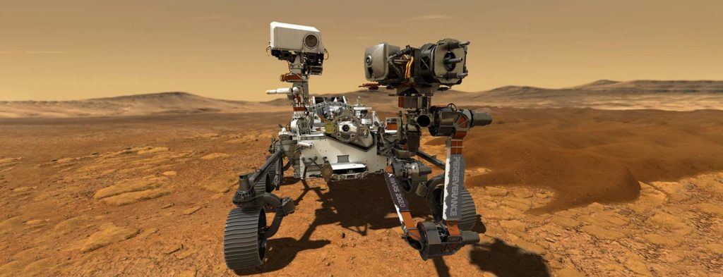 image of Perseverance rover
