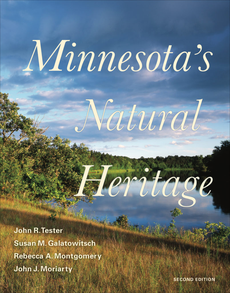 Book Cover with photo of a Minnesota lake