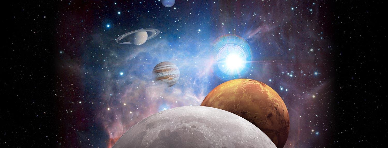 Illustration of planets