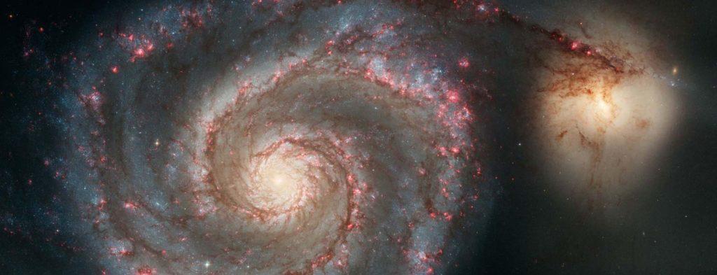 Spiral-shaped galaxy