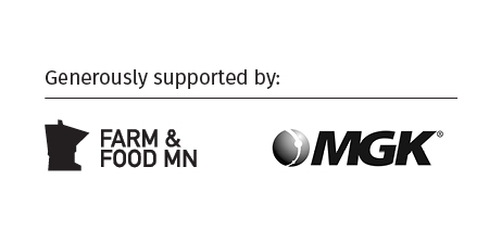 text: Generously supported by Farm & Food MN and MGK